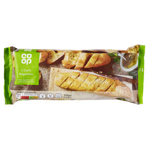 Co-op Garlic Baguettes 310g