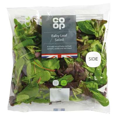Co-op Baby Leaf Salad 115g