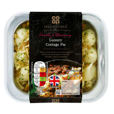 Co-op Irresistible Luxury Cottage Pie 425g
