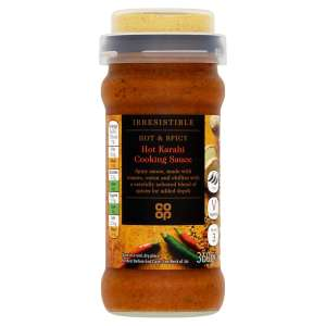 Co-op Irresistible Karahi Cook in Sauce 360g