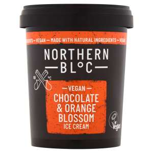 Northern Bloc Vegan Chocolate & Orange Blossom Ice Cream 500ml