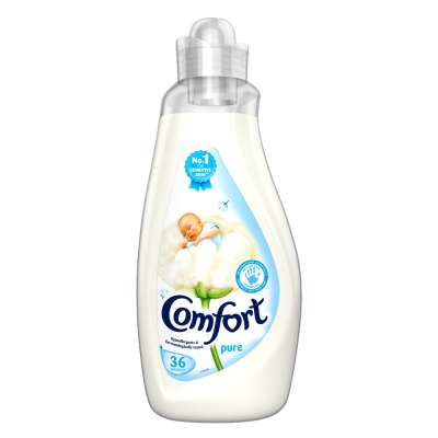 Comfort Concentrated Fabric Conditioner Pure 36 Washes 1.26 Ltr