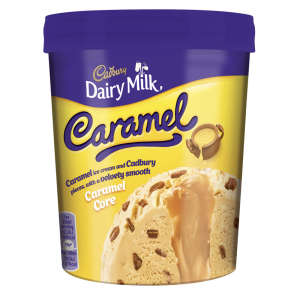 Cadbury Caramel Ice Cream Tub 480ml