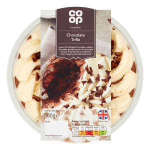 Co-op Chocolate Trifle 500g