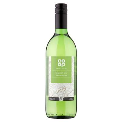 Co-op Spanish Dry White