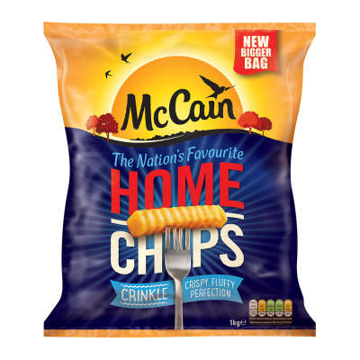 McCain Home Chips Crinkle Cut 900g