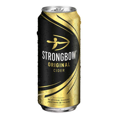 Strongbow Original Cider Cans 4x440ml