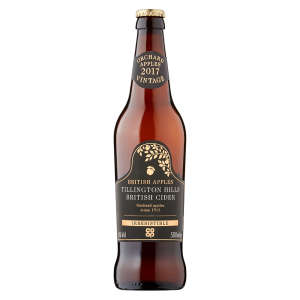 Co-op Irresistible Tillington Hills Dry Cider Bottle 500ml