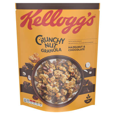 Kellogg's Crunchy Nut Granola Chocolate and Nut 380g
