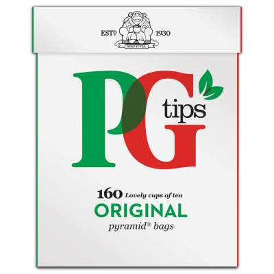 PG Tips 160 Pyramid Tea Bags 464g