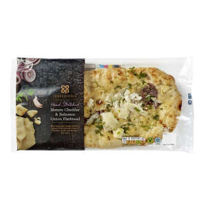 Co-op Irresistible Mature Cheddar and Balsamic Onion Flatbread 220g