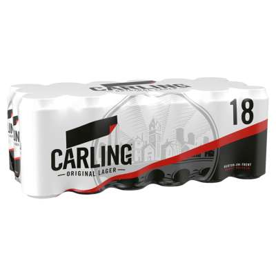 Carling Original Lager 18x440ml
