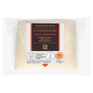 Co-op Irresistible Manchego Cheese 175g