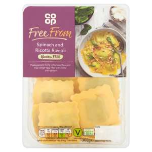 Co-op Free From Spinach and Ricotta Ravioli 300g - Gluten Free