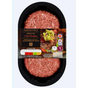 Irresistible Hereford Burgers 2 pack 340g - Gluten Free