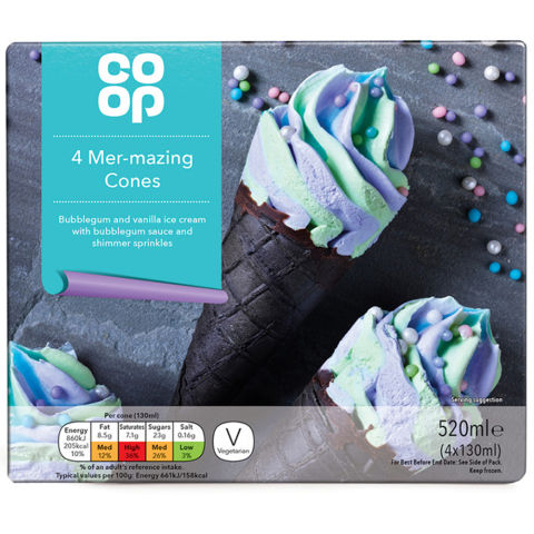 Co-op Mer-mazing Cones 4 pack