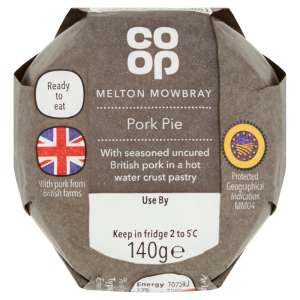 Co-op Melton Mowbray Pork Pie 140g