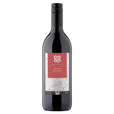 Co-op Spanish Red