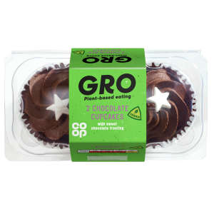 GRO 2 Chocolate Cupcakes