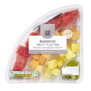 Co-op Rainbow Fruit Platter 200g