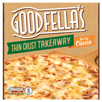 Goodfella's Thin Crust Margherita Pizza 458g