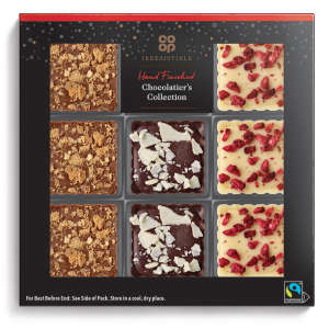 Co-op Irresistible Chocolatier's Collection 110g