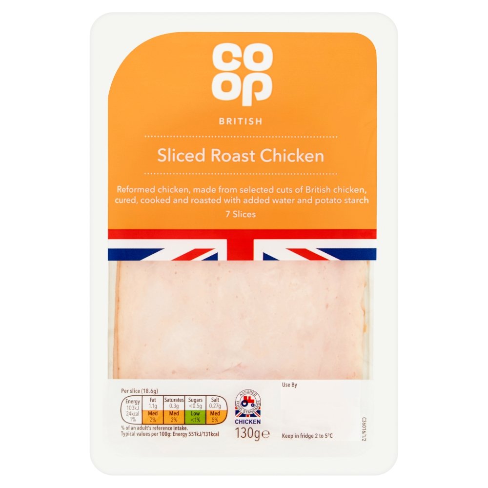 Co Op: Co-op Roast Chicken 130g