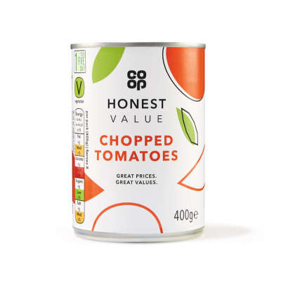Co-op Honest Value Chopped Tomatoes 400g