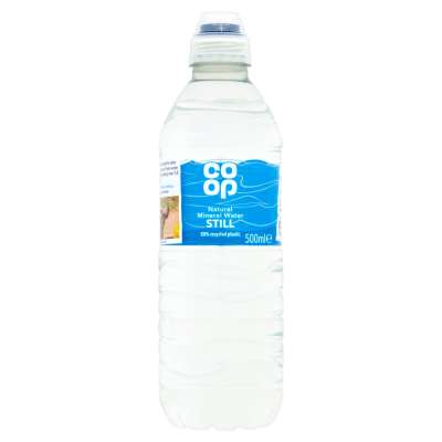 Co-op Still Mineral Water 500ml