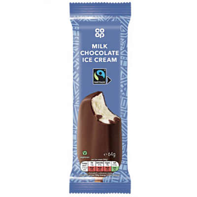 Co-op Chocolate Ice Cream Stick 64g
