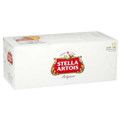 Stella Artois Can 10x440ml