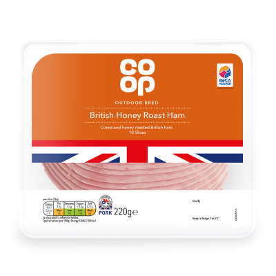 Co-op Honey Roast Ham 220g