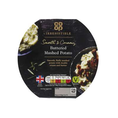 Co-op Irresistible Buttered Mashed Potato 400g