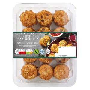 Co-op Mac 'n' Cheese Bites 270g
