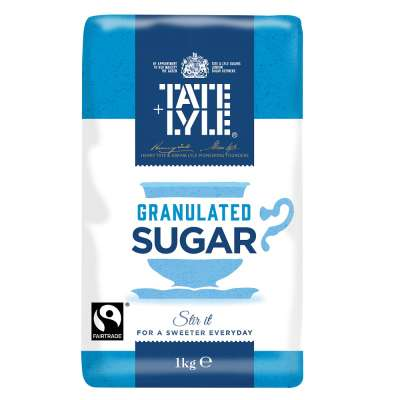 Tate and Lyle Fairtrade Granulated Pure Cane Sugar
