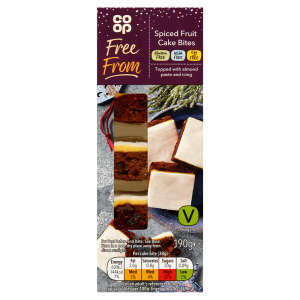 Co-op Free From Spiced Fruit Cake Bites 190g - Gluten, Milk & Egg Free