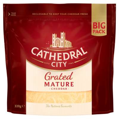 Cathedral City Grated Cheddar 320g