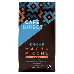 Cafe Direct Fairtrade Machu Picchu Decaffeinated Ground Coffee 227g