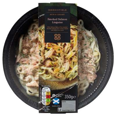 Co-op Irresistible Smoked Salmon Linguine 350g