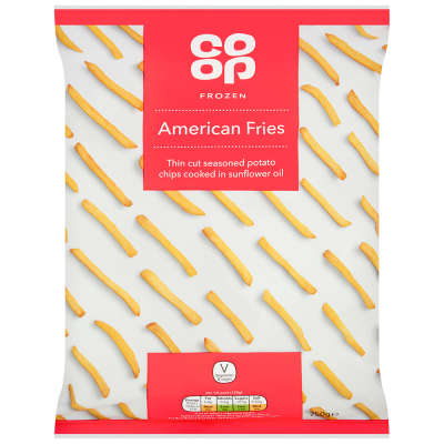 Co-op American Fries 750g