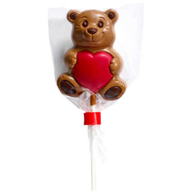 Co-op Milk Chocolate Bear Lolly 30g