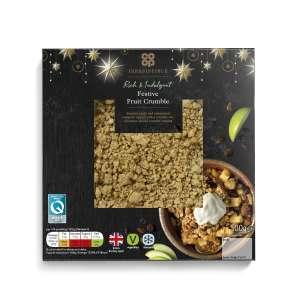 Co-op Irresistible Festive Fruit Crumble 500g