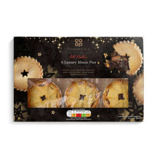 Co-op Irresistible 6 Luxury Mince Pies