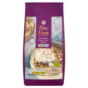Co-op Free From Fruit Muesli 450g - Gluten and Milk Free