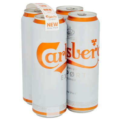 Carlsberg Export Cans 4x568ml