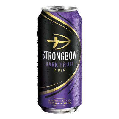Strongbow Dark Fruit Cider Cans 4x440ml