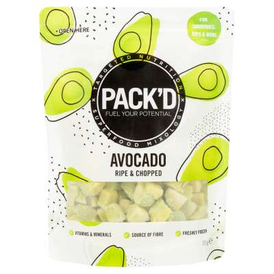 Pack'd Ripe & Chopped Avocado 350g