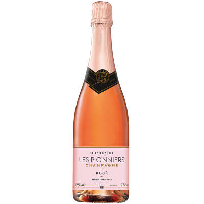 Les Pionniers Rose NV Champagne
