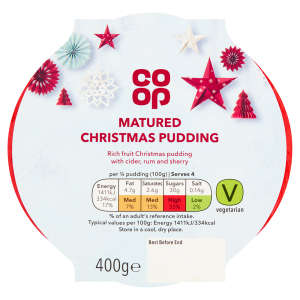 Co-op Matured Christmas Pudding 400g