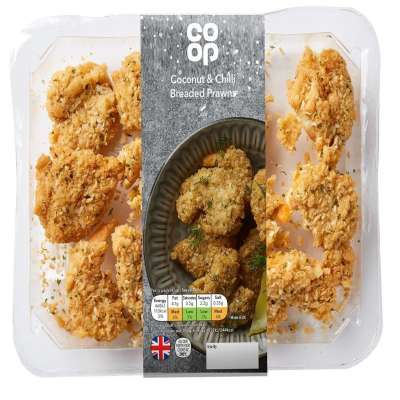 Co-op Coconut & Chilli Prawns 175g